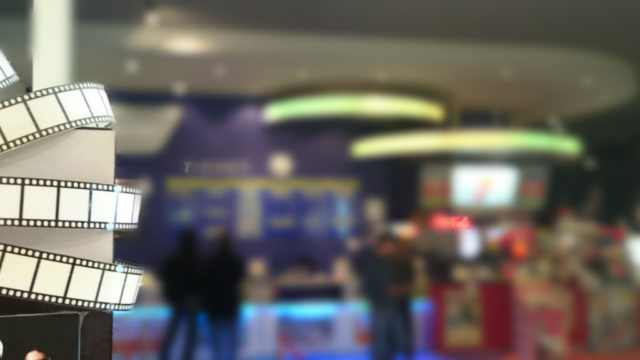 映画館のチケット売り場