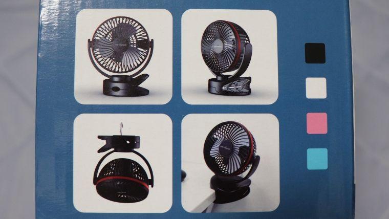 4way仕様卓上扇風機の各使用イメージ