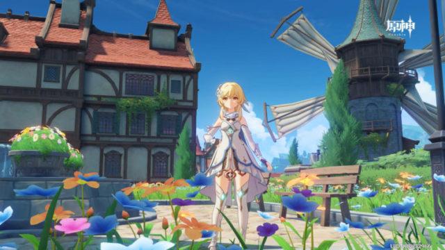 原神PS4版レビューアイキャッチ画像